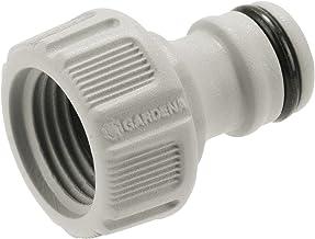 """GARDENA kraanaansluiting 21 mm (G 1/2""""): Aansluiting voor waterkranen met schroefdraad, waterdichte verbinding, eenvoudig ..."""