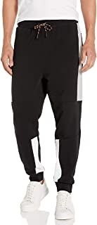 A|X Armani Exchange Men's Contrast Colorblock Drawstring Sweatpant