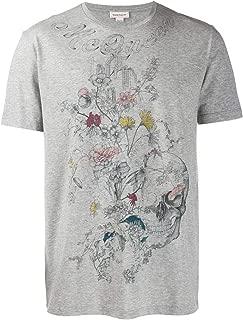 Alexander McQueen Luxury Fashion Mens T-Shirt Winter