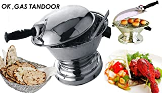 GAS TANDOOR OK WITH BAR-BE-QUE RODS AS AN OVEN, AS A TOASTER,AS A DAL BATI MAKER