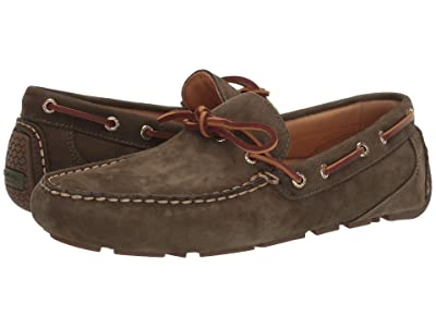 Sperry Gold Cup Harpswell 1-Eye Nubuck (Olive) Men