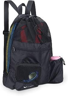 Mesh Swim Backpack Bag Swimming Equipment Bag Quick Dry Lightweight Ventilation for Swim Beach Gym