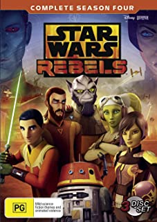 Star Wars Rebels: Season 4 (DVD)