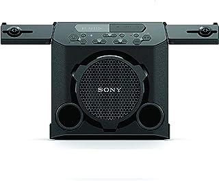 Sony GTK-PG10, Outdoor Wireless Party Speaker with built-in Battery, Boombox, Karaoke Input, FM Tuner, Splashproof - Black