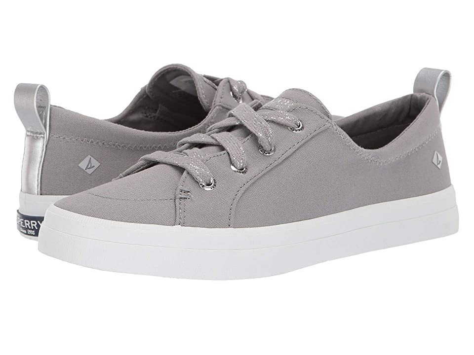 Sperry Crest Vibe Canvas (Canvas Grey) Women