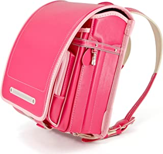 軽量 2019年最新モデル ランドセル 女の子 高級合皮 自動ロック A4フラットサイズ 大容量 防水仕上げ japanese schoolbag 通学 入学お祝い 小学生通学鞄 5色展開 6年間保証 (ピンク)【バオバブの願い】