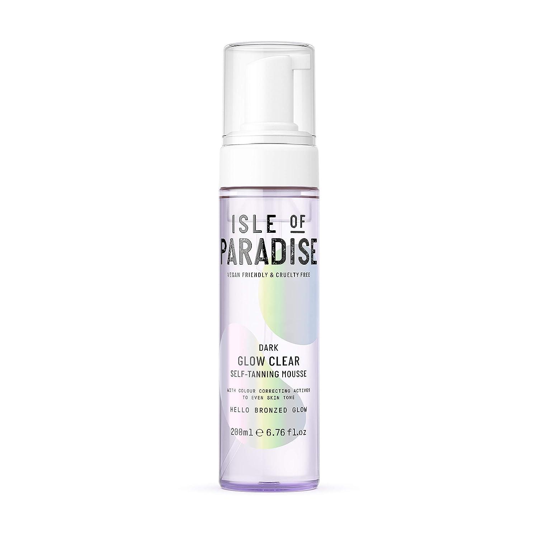 Isle of Paradise Fake Tan Mousse Dark 5 popular T Self Clear Glow ml 200 Max 86% OFF