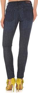 Women's Destructed Dark Skinny Jeans Indigo 7W x 31L
