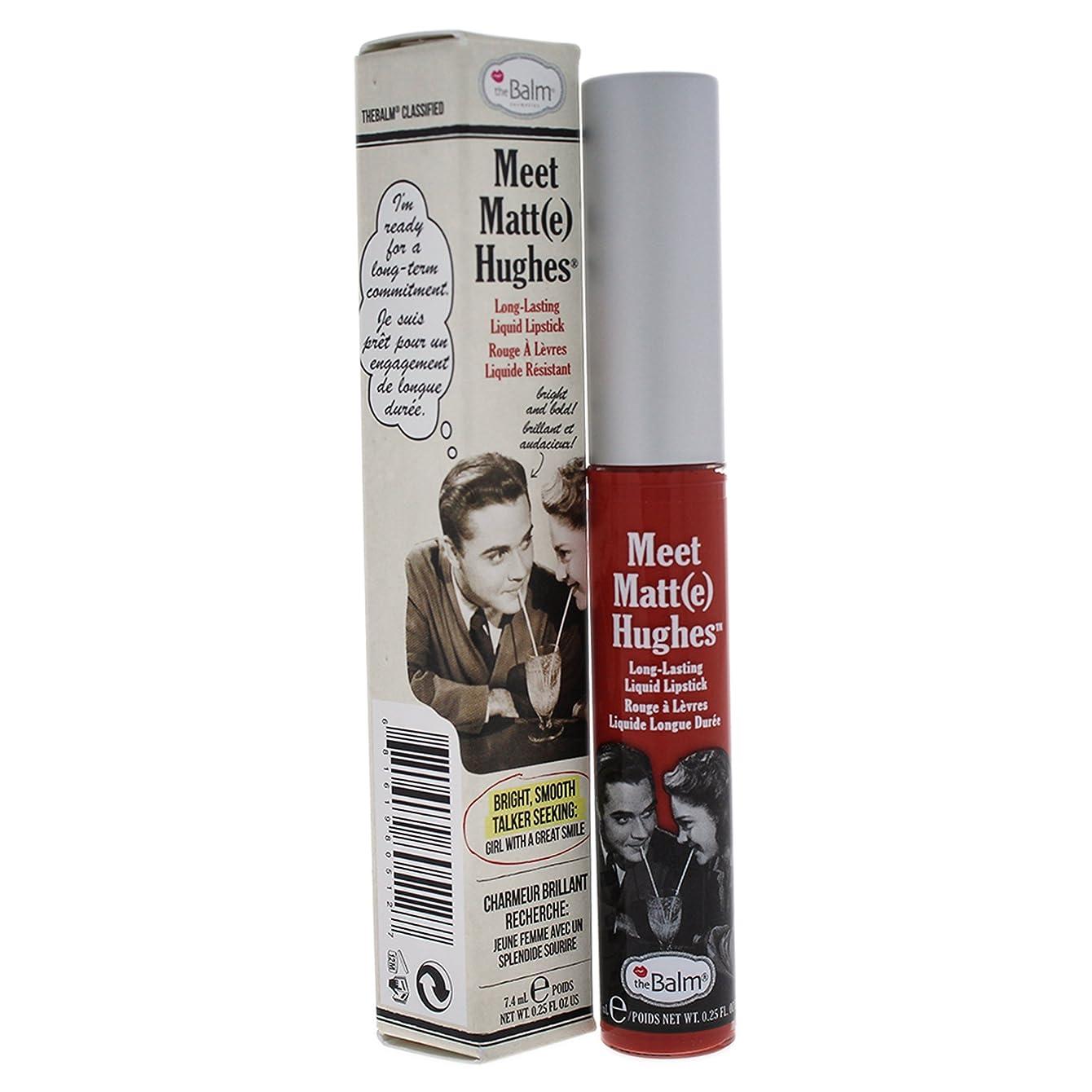 カウント悲劇わかりやすいザバーム Meet Matte Hughes Long Lasting Liquid Lipstick - Honest 7.4ml/0.25oz並行輸入品