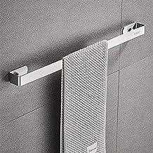 Handdoekenrek, Sikiwind Wandmontage Handdoekhouder Roestvrij Staal Handdoekrek 1-Arm Badkamer Handdoekstang 40cm (Zilver 1...