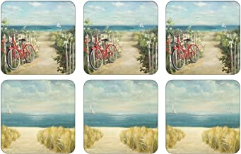 Pimpernel Summer Ride Set Coasters