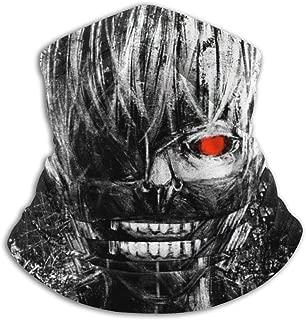Balaclava Headband Tokyo Ghoul Scarf Bandana,Muffler,Neck Gaiter,Magic,Hatliner Sweatband Black