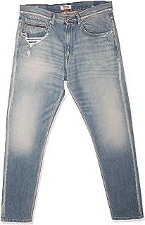 تومي جينز بنطال للرجال -  لون ازرق -  مقاس 36 EU