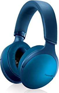 Panasonic Premium Hi-Res Wireless Bluetooth Over The Ear Headphones with 3D Ear Pads and 3 Sound Modes - RP-HD305B-A (Blue)