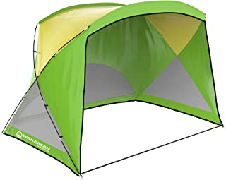 Beach Tent Sun Shelter- Sport Umbrella, UV Protection, Water Resistant & Carry Bag- Shade Canopy for Families, Kids & Baby...