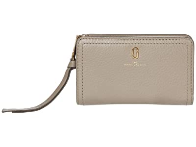 Marc Jacobs Compact Wallet (Cement) Wallet Handbags