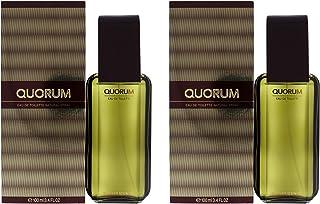 Antonio Puig Quorum - Pack of 2 For Men 3.4 oz EDT Spray