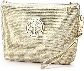 COAFIT Makeup Bag Portable Zipper Cosmetic Bag Makeup Pouch Travel Toiletry Pouch