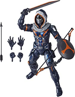 Black Widow E8768 Hasbro Marvel Legends Series 6-inch Collectible Taskmaster Action Figure Toy, Premium Design, 5 Accessor...