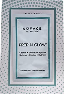 NuFace Prep-N-Glow Textured Cleansing Cloth,