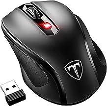 VicTsing Mouse Wireless 2400DPI, Mouse Senza Fili 2.4G con Ricevitore Nano, 24 Mesi di Batteria Durata, Compatibile con Wi...