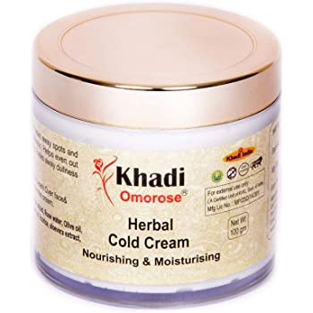 Khadi Herbal Cold Cream (with shea butter, aloe vera extract) 100 gm