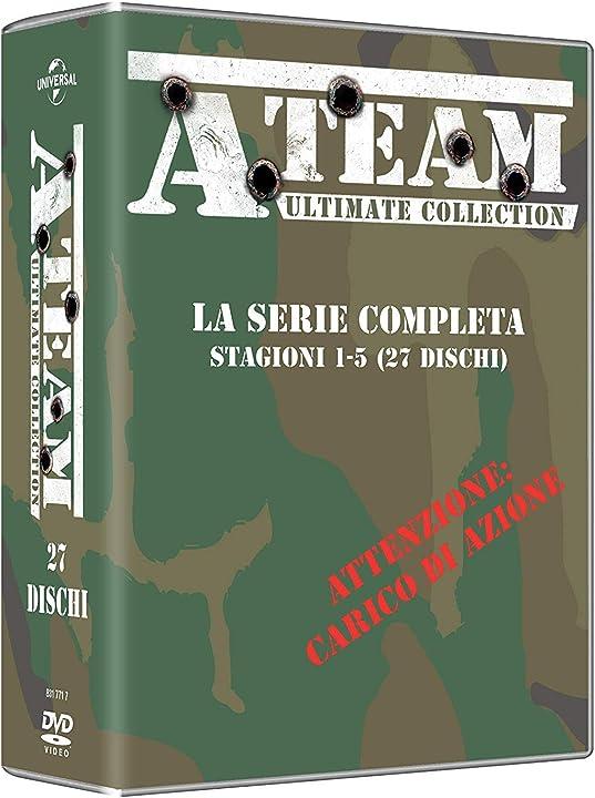 A-team serie completa (box 27 dv) B07K9N74PP