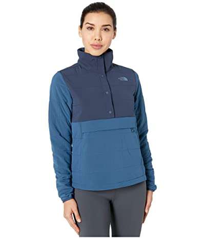 The North Face Mountain Sweatshirt Pullover Anorak 3.0 (Urban Navy/Blue Wing Teal) Women
