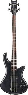 $839 » Schecter Stiletto Studio-4 Bass (4 String, See-Through Black Satin)