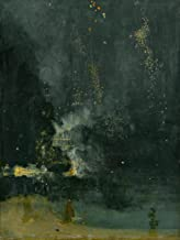 Gifts Delight Laminated 24x32 Poster: James McNeill Whistler - Nocturne in Black and Gold - The Falling Rocket
