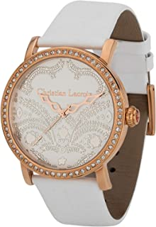 Christian Lacroix Dress Watch For Women Analog Leather - C Clw8004002Sm
