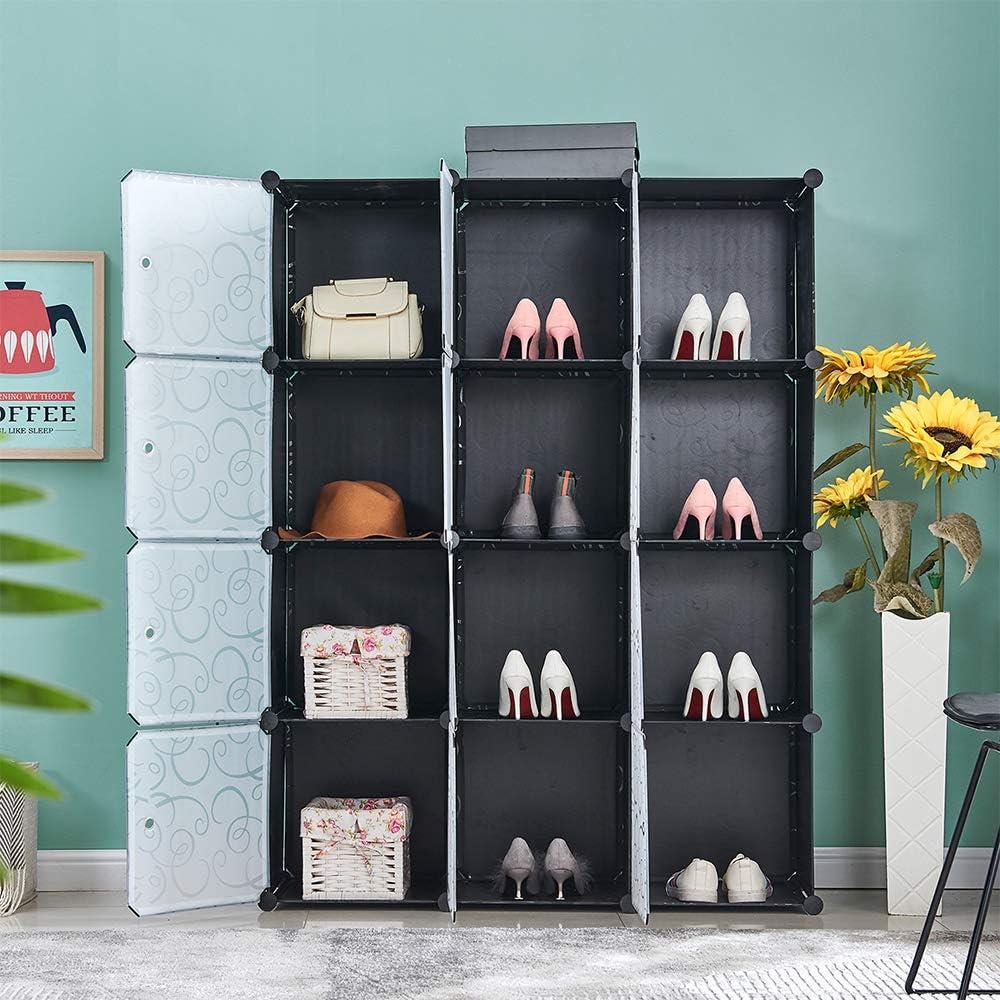 4HOMART 大幅にプライスダウン 商店 Cube Storage Organizer DIY Plast Closet Shelves
