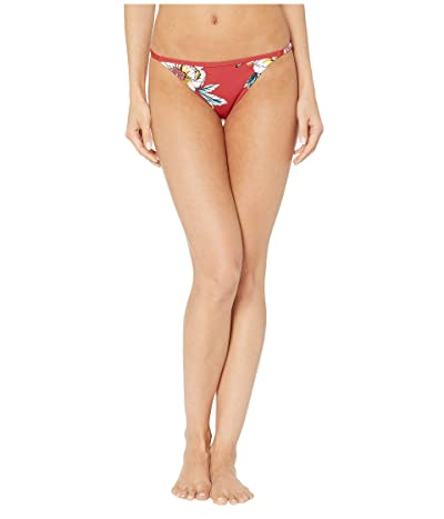Roxy Printed Beach Classics Regular Swim Bottoms (Deep Claret Swim Full Sept) Women