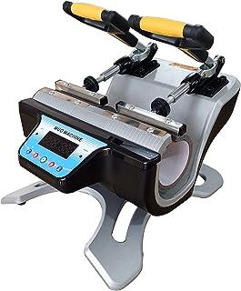 Máquina de transferencia de prensa de calor de taza doble de doble estación automática de 110 V para impresión de taza de ...