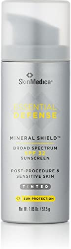 Skin Medica Essential Defense Mineral Shield Spf 32, Tinted Sun Protection, 1.85 ounces
