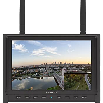 Lilliput 664 7 inch 16:10 IPS Panel 178/° Wide Viewing Angles LED Field Monitor.