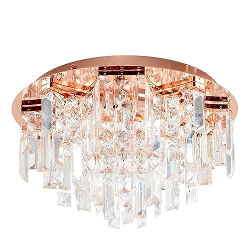 Rose Gold Ceiling Light Amazon Co Uk