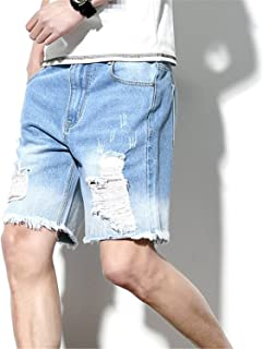 ca0abf61251c Zcaosma Men s Hole Short Jeans 2018 Summer New Fashion Classic Denim Shorts
