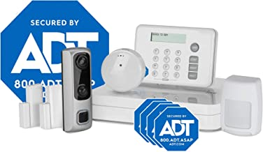 HD Video Doorbell Camera System from LifeShield, an ADT Company – 8-Piece Easy, DIY Smart Home Security System - Optional 24/7 Monitoring - No Contract - Wi-Fi Enabled - Alexa Compatible