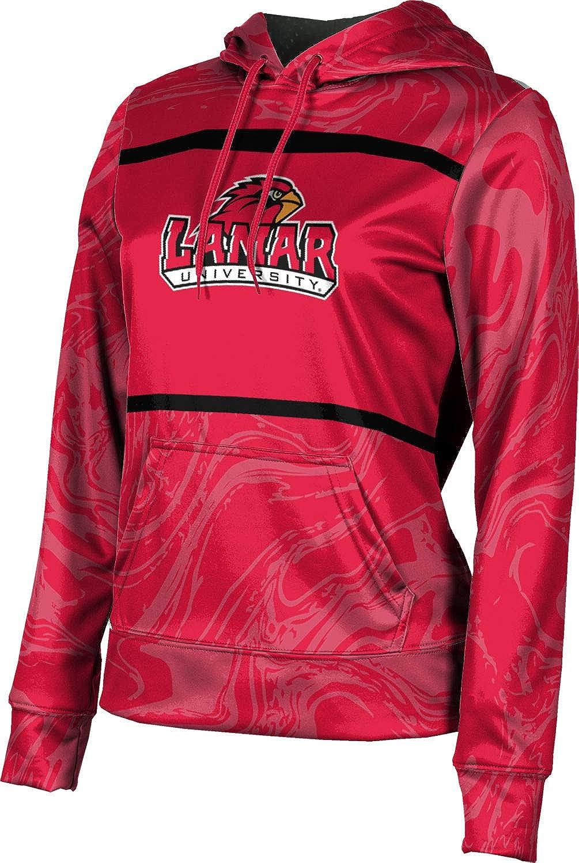 ProSphere Lamar University Girls' Pullover Hoodie, School Spirit Sweatshirt (Ripple)