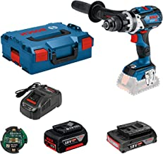 Bosch Professional 18V System Accuschroefklopboormachine GSB 18V-85 C (Max. Draaimoment: 110 Nm, Incl. Connectivity-Modul...
