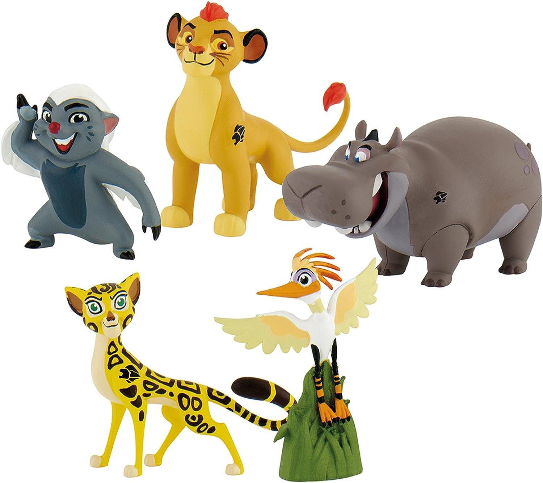 Felices compras Bullyland Lion Guard Guard Guard - Caja de Regalo con 5 Figuras  barato y de alta calidad