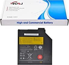 45N1040 45N1041 0A36310 43 Ultrabay Battery Compatible with Lenovo Thinkpad T60 T61 T400 T400S T410S T420S T430 T430S T500 Series 10.8V 32Wh