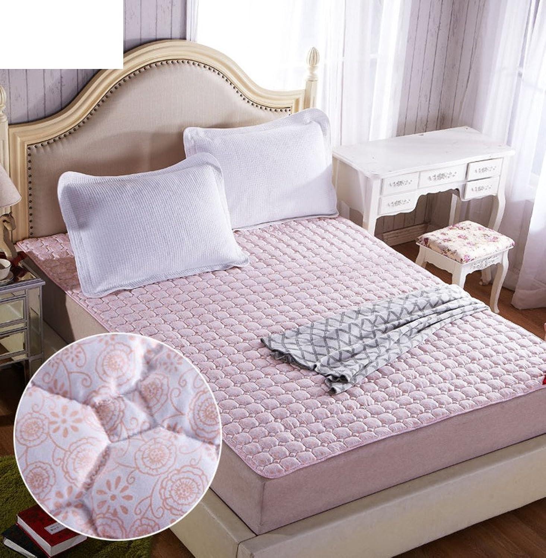 Mattress Mattress Tatami Mattress Folding Non-Slip Bed Pad Bedding Double Mattress-E 200x220cm(79x87inch)