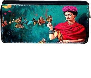 Portafoglio Donna Bahamas Frida Kahlo Con Farfalle2