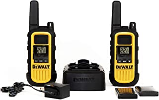 DEWALT DXFRS800 2W Walkie Talkies Heavy Duty Business Two-Way Radios (Pair)