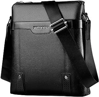 Men Vintage Shoulder Bags Crossbody Bags Retro Zipper Handbags