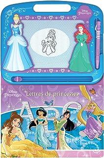 Disney Lettres De Princesses Écrire Et Dessiner