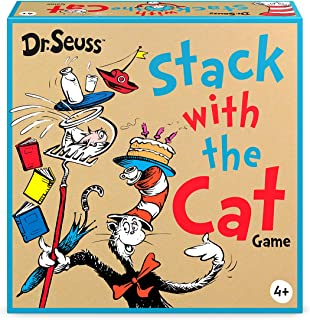 Funko 56321 Signature Games: The Cat in the Hat Stack with Cat Game