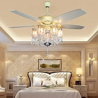 Crystal Ceiling Fan 52